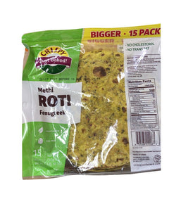 Crispy Methi Roti Fenugreek - 750 Gm - Daily Fresh Grocery