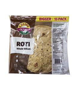Crispy Roti Whole Wheat - 750 Gm - Daily Fresh Grocery