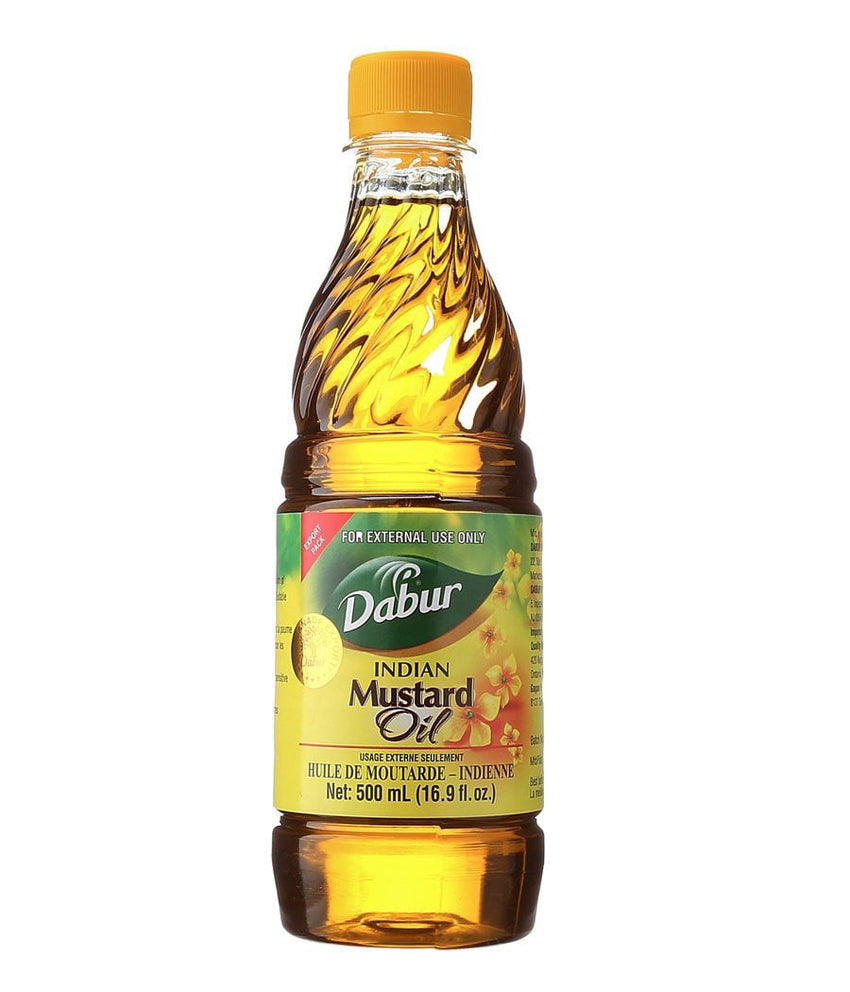Dabur Indian Mustard Oil - 500ml - Daily Fresh Grocery