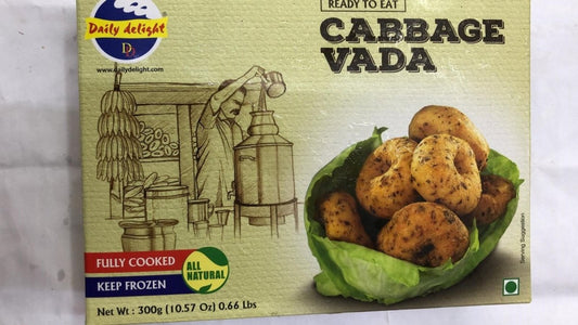 Daily Delight Cabbage Vada - 300 Gm - Daily Fresh Grocery