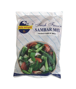 Daily Delight Fresh Frozen Sambar Vegtables Mix 400g - Daily Fresh Grocery