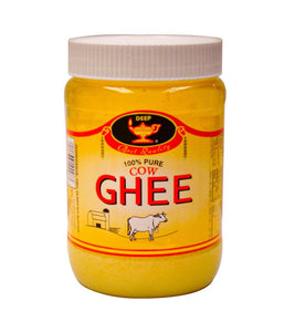 Deep 100% Pure Cow Ghee 8 oz - Daily Fresh Grocery