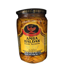 Deep Amba Haldar (fresh Turmeric) Pickle - 652 Gm - Daily Fresh Grocery