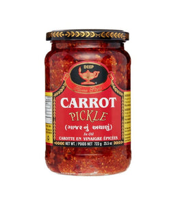 Deep Carrot Pickle - 723 Gm - Daily Fresh Grocery