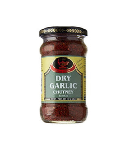 Deep Dry Garlic Chutney 5.3 oz / 150 gram - Daily Fresh Grocery