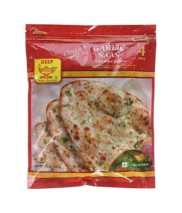 Deep Garlic Naan - Daily Fresh Grocery