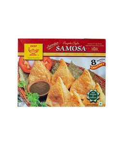 Deep Jumbo Punjabi Style Samosa with Chutney - Daily Fresh Grocery