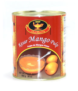 Deep Kesar Mango Pulp 30 oz - Daily Fresh Grocery