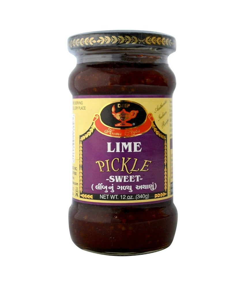 Deep Lime Pickle Sweet 10 oz - Daily Fresh Grocery
