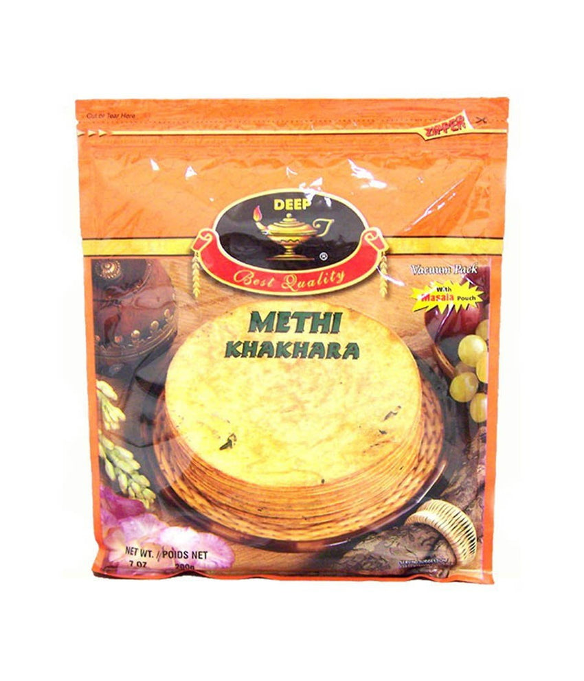 Deep Methi Khakhara 7 oz / 200 gram - Daily Fresh Grocery