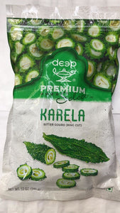 Deep Frozen Karela (Bitter Gourd) - 340 Gm - Daily Fresh Grocery