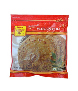 Deep Puran-Poli - 468 Gm - Daily Fresh Grocery