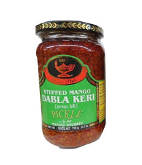 Deep Stuffed Mango Dabla Keri Pickle - 700 Gm - Daily Fresh Grocery