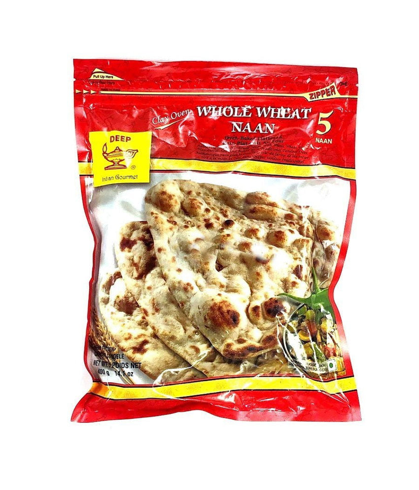 Deep Whole Wheat Naan - 400 Gm - Daily Fresh Grocery