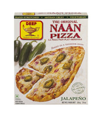 Deep's The Original Naan Pizza Jalapeno - Daily Fresh Grocery