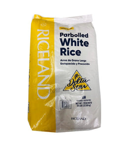 DELTA STAR - Parboiled White Rice - 50Lbs - Daily Fresh Grocery