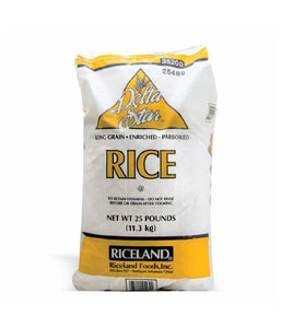 Delta Star Rice - 25 Pounds / 11.3 KG - Daily Fresh Grocery
