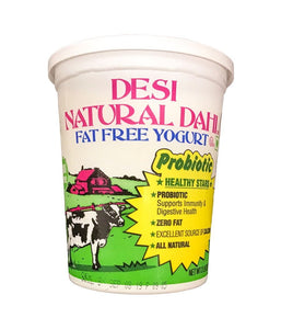 Desi Fat Free Yogurt 2 lb / 907 gms - Daily Fresh Grocery