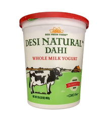 Desi Natural Dahi Whole Milk Yogurt - 907 Gm - Daily Fresh Grocery