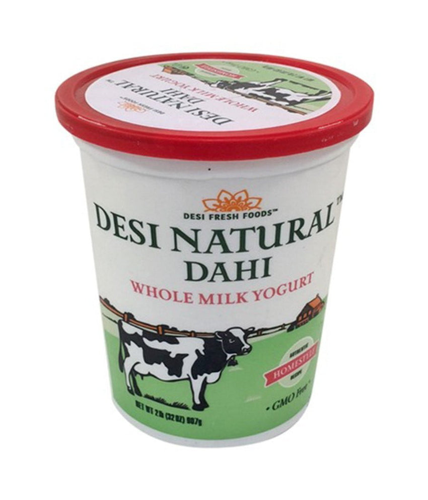 Desi Natural Dahi Whole Milk Yougurt 2lb - Daily Fresh Grocery
