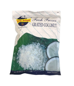 Dialy Delight Fresh Frozen Grated Coconut 454g - Daily Fresh Grocery