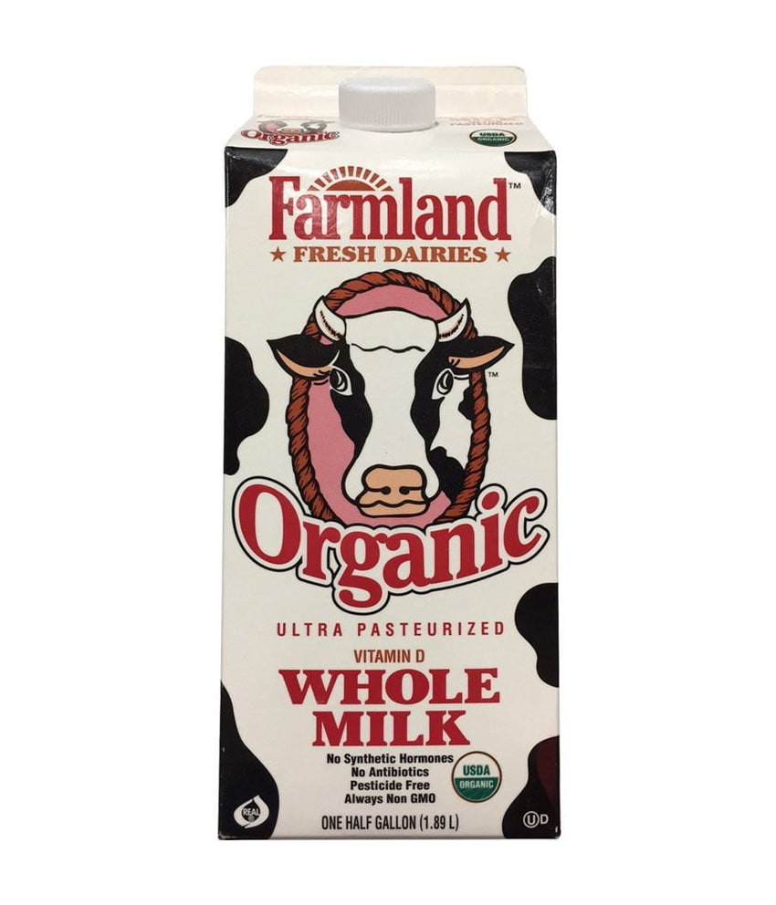 Farmland Organic Whole Milk - 1.89 Ltr - Daily Fresh Grocery