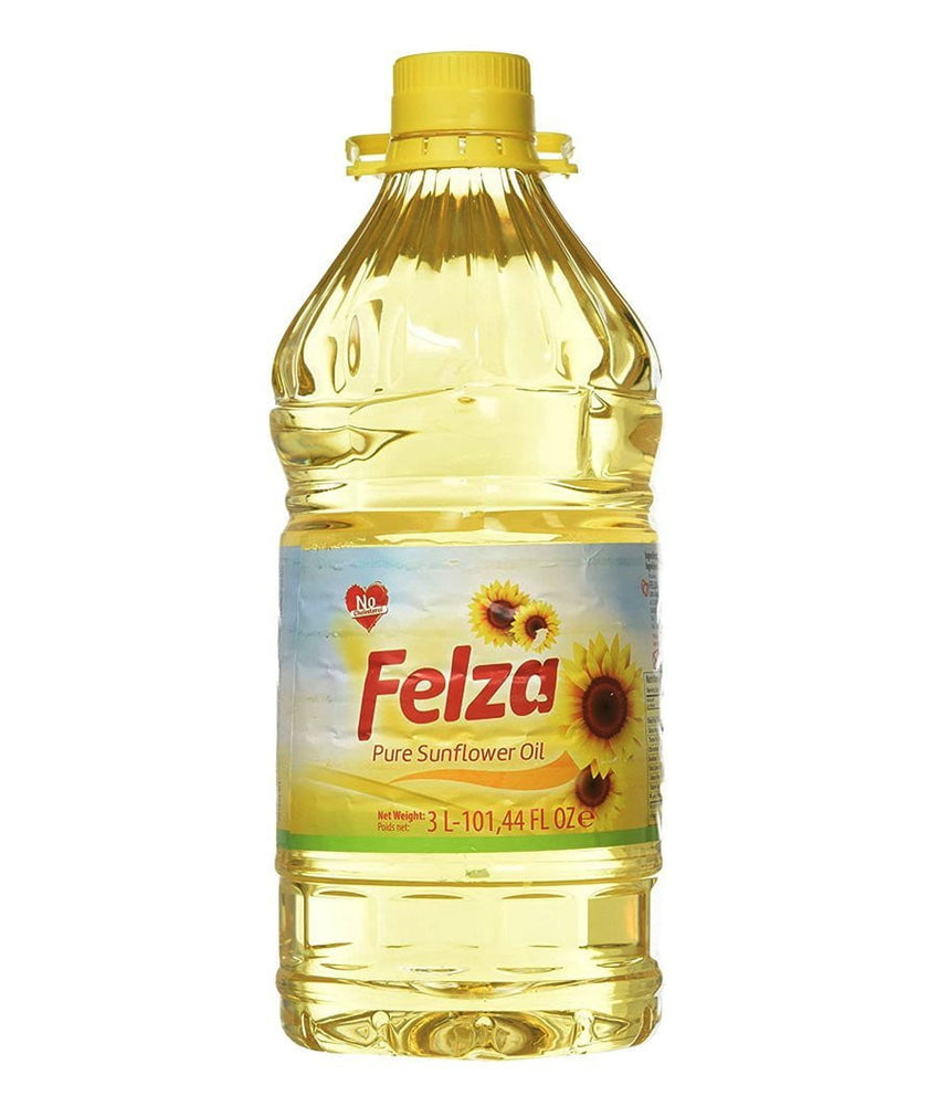 Felza Pure Sunflower Oil - 3 Ltr - Daily Fresh Grocery