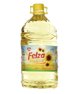 Felza Pure Sunflower Oil - 5 Ltr - Daily Fresh Grocery