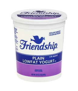 Friendship Plain Lowfat Yogurt - 907 Gm - Daily Fresh Grocery