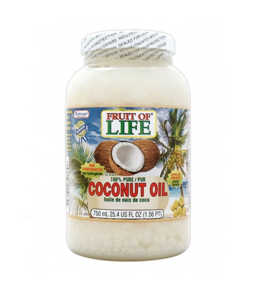 Fruit of Life Coconut Oil - 750ml - Daily Fresh Grocery
