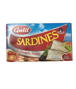 Galil Sardines In Tomato Sauce 4.4 Oz - Daily Fresh Grocery