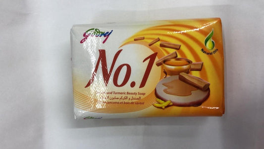Godrej No.1 Sandal Turmeric Beauty Soap - Daily Fresh Grocery