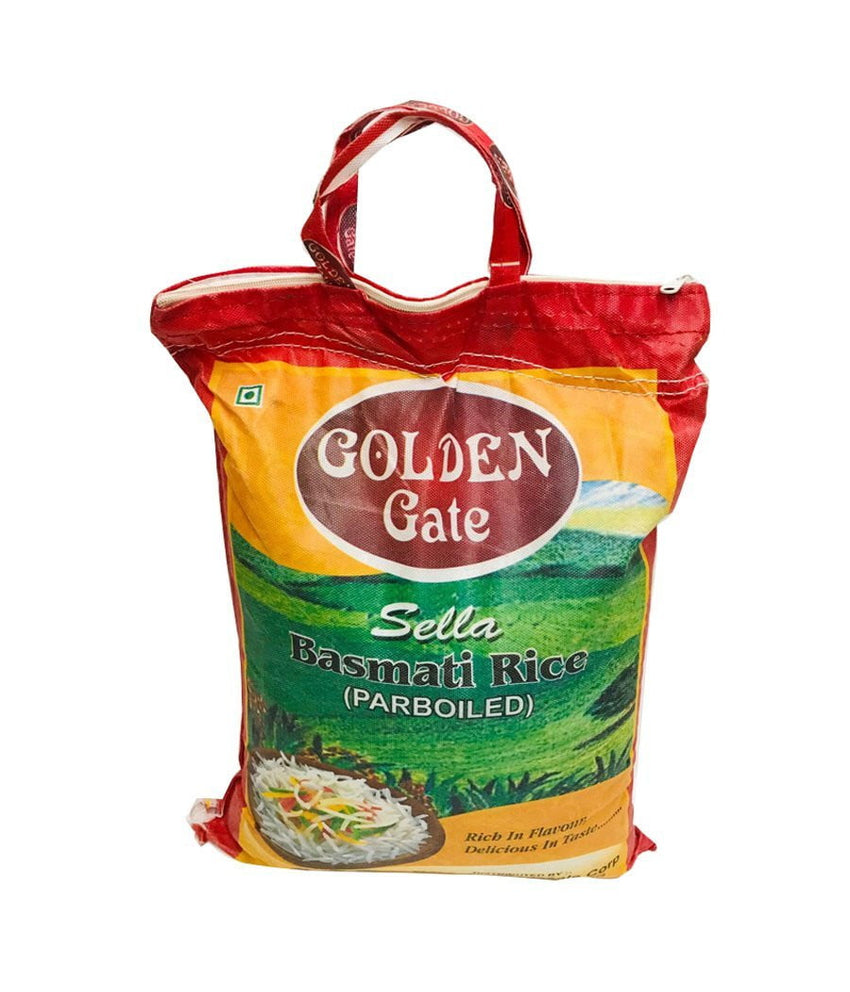 GOLDEN GATE – Sella Basmati Rice – Parboiled – 20Lbs - Daily Fresh Grocery