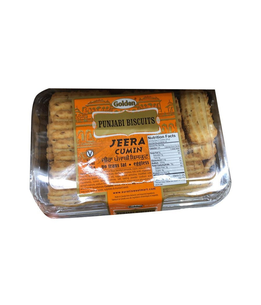 Golden Punjabi Biscuits Jeera Cumin - Daily Fresh Grocery