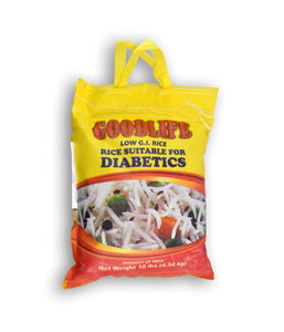 Goodlife Diabetic Rice 10 lb / 4.5 kg - Daily Fresh Grocery