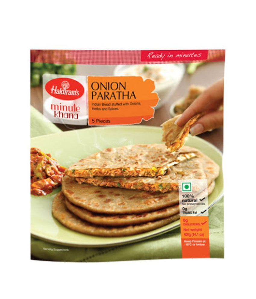 Haldirams Onion Paratha - Daily Fresh Grocery