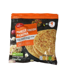 Haldirams Paneer Onion Paratha - 400 Gm - Daily Fresh Grocery
