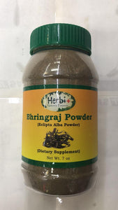 Herbi Bhringraj Powder ( Eclipta Alba Powder ) - 7 oz - Daily Fresh Grocery