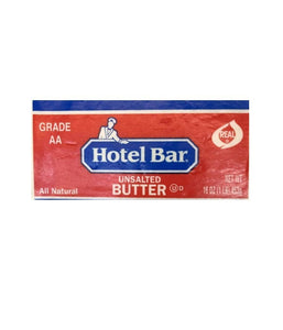 Hotel Bar Unsalted Butter - 453 Gm - Daily Fresh Grocery
