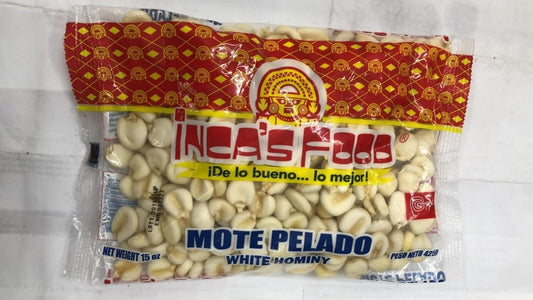 Inca's Food Mote Pelado White Hominy - 15 oz - Daily Fresh Grocery
