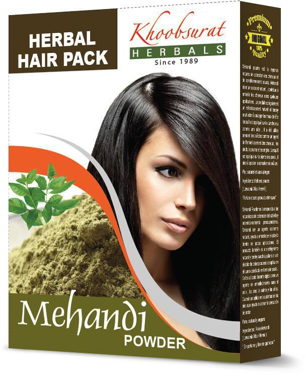 khoobsurat herbals Mehandi powder Hair Pack - 100gm - Daily Fresh Grocery