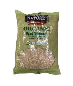 India's Nature Organic Urad Washed - 2 lb - Daily Fresh Grocery