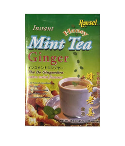 Instant Honey Mint Tea Ginger - 15 Gm - Daily Fresh Grocery