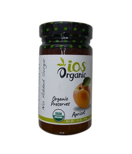 iOS Organic Apricot Organic Preserves - 370 Gm - Daily Fresh Grocery