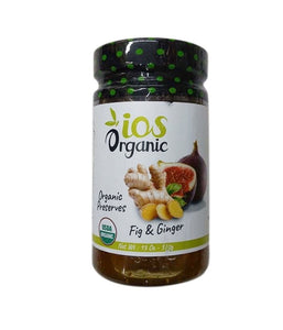 iOS Organic Fig & Ginger Organic Preserves - 370 Gm - Daily Fresh Grocery
