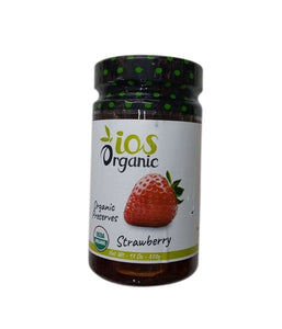 iOS Organic Strawberry Organic Preserves - 370 Gm - Daily Fresh Grocery