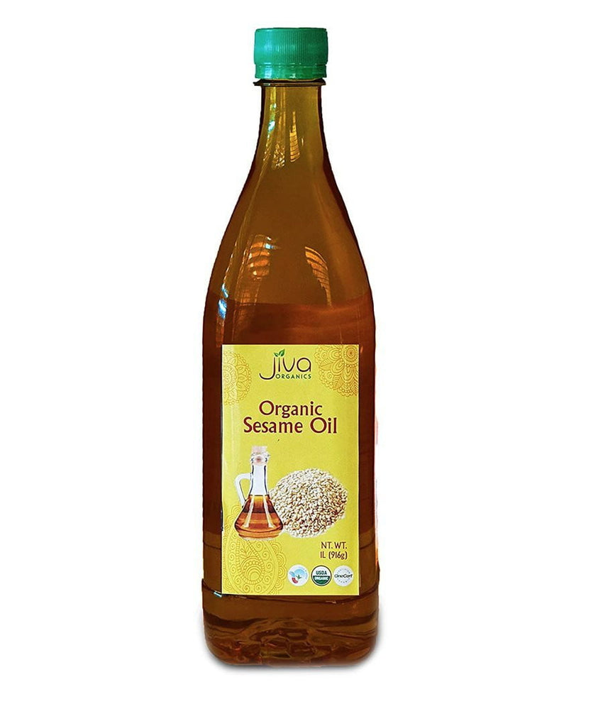Jiva Organic Sesame Oil - 1 Ltr - Daily Fresh Grocery