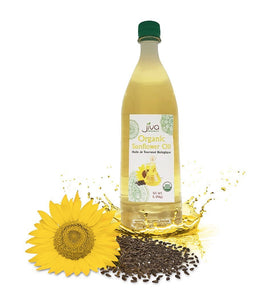 Jiva Organic Sunflower Oil - 1 Ltr - Daily Fresh Grocery