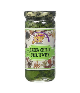 Joy Green Chilli Chutney 10 oz - Daily Fresh Grocery