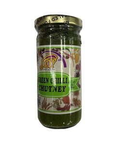 Joy Green Chilli Chutney - 8 oz - Daily Fresh Grocery